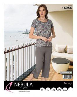 Piżama damska wiskozowa Nebula 14064