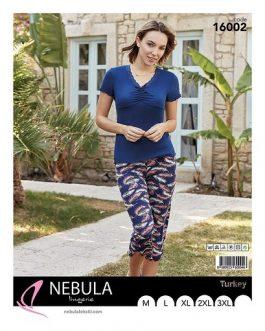 Piżama damska wiskozowa Nebula 16002