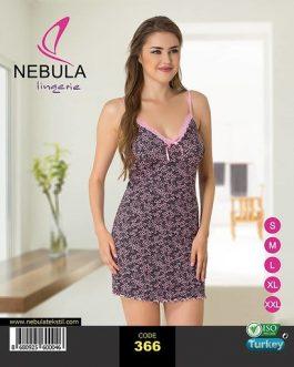 Koszula nocna wiskozowa Nebula 366