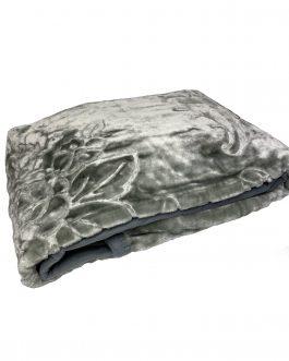 Koc akryl tłoczony 160×210 Elway grafitowy