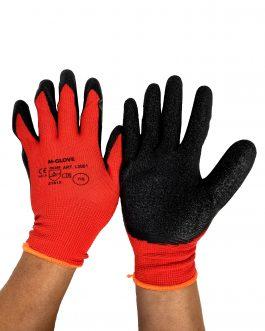 Rękawice robocze powlekane lateksem M-GLOVE (12 szt)