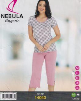 Piżama damska wiskozowa Nebula 14040