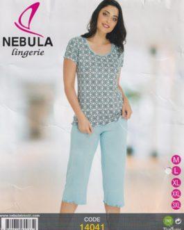 Piżama damska wiskozowa Nebula 14041