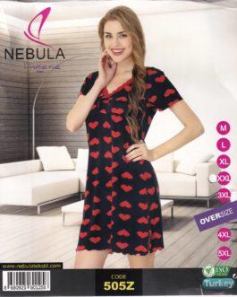 Koszula nocna wiskozowa Nebula 505Z