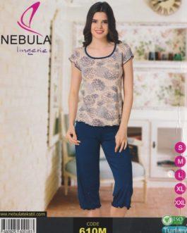 Piżama damska wiskozowa Nebula 610M