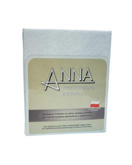 Prześcieradło frotte z gumką ANNA 90×200