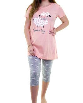 Piżama damska La Penna 0007 rozmiar XL