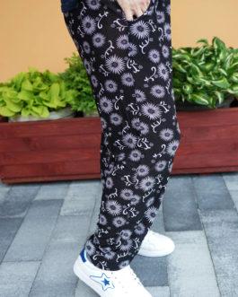 Spodnie ALLADYNKI cienkie długie wzór nr 1