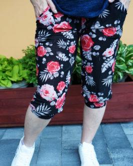 Spodnie ALLADYNKI cienkie 3/4 wzór nr 6