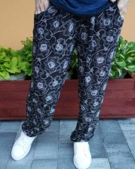 Spodnie ALLADYNKI cienkie długie wzór nr 4