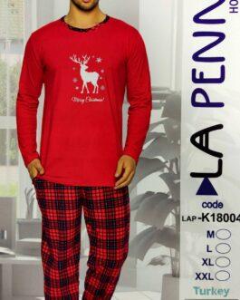 Piżama męska La Penna Świąteczna